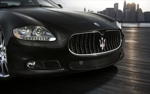 Maserati Auto Emblem