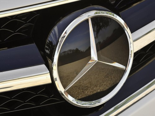 Present Mercedes-Benz Logo