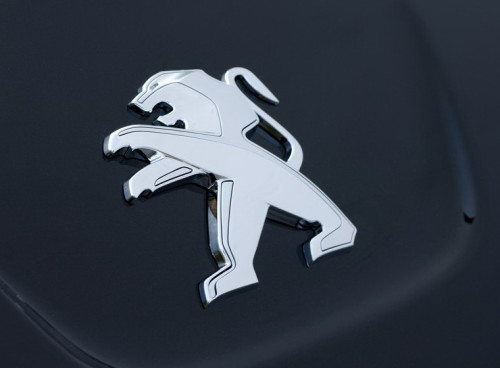 Peugeot Car Emblem