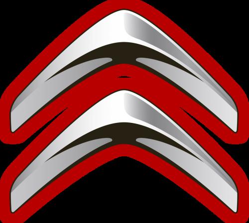 Lincoln Car Logo Red Clipart Vector Design