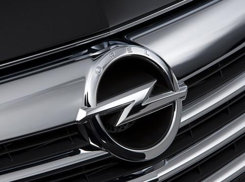 Opel car emblem