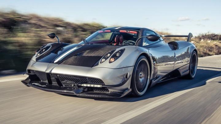 Top 5 Expensive Car - Pagani Huayra BC