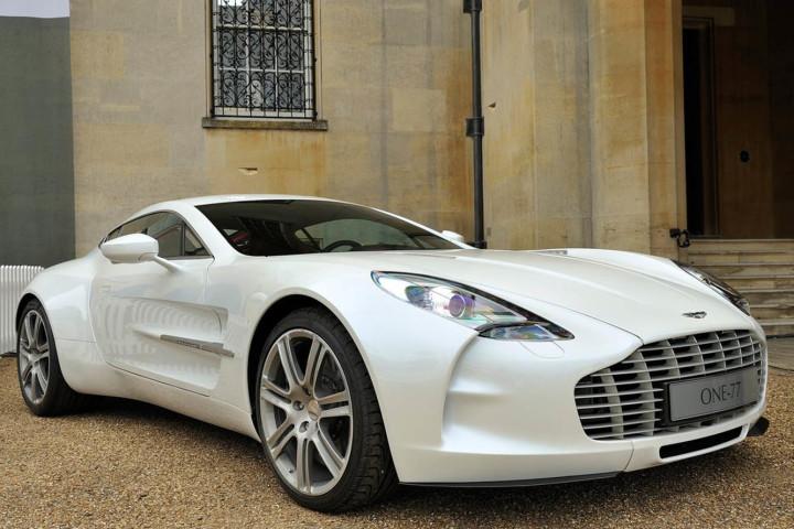 The Aston Martin One-77