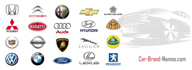 all car brands list of car brand names and logos. Black Bedroom Furniture Sets. Home Design Ideas
