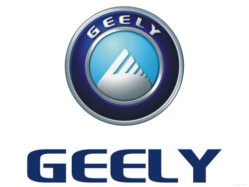 Chinese car brand Geely symbol