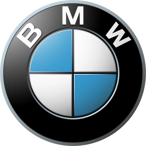 BMW car brand logo