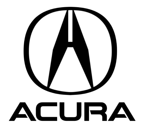 Japanese car brands Acura logo