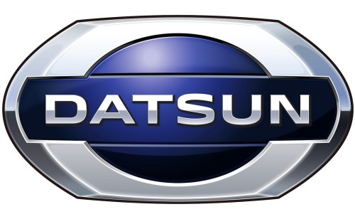 Japanese car brands Datsun logo