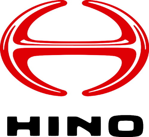 Japanese car brands Hino logo
