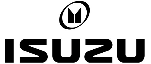 Japanese car brands Isuzu logo