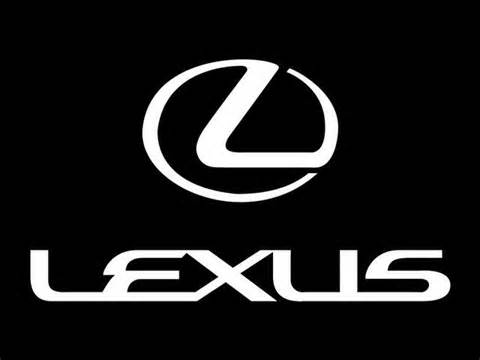 Japanese car brands Lexus logo