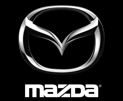 Japanese car brands Mazda logo