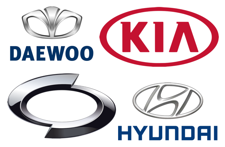 South Corean Car Brand Logos