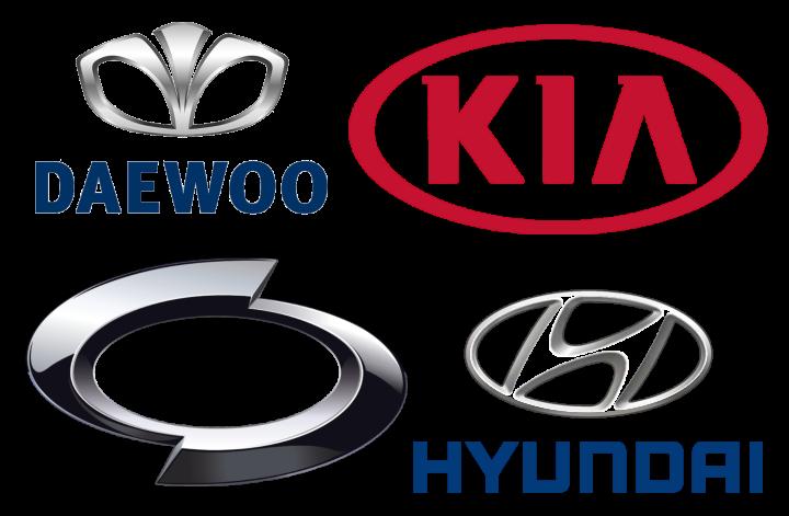 South Corean Car Brand Logos
