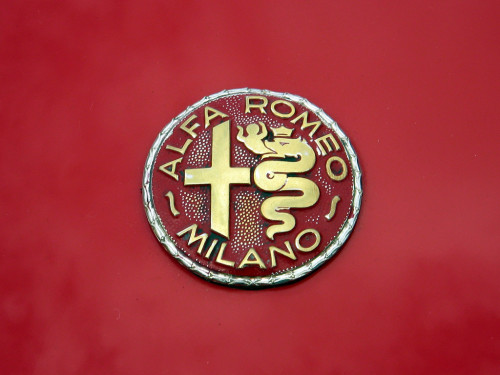 Old Alfa Romeo Car Logo