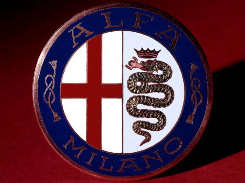 Old Alfa Romeo symbol