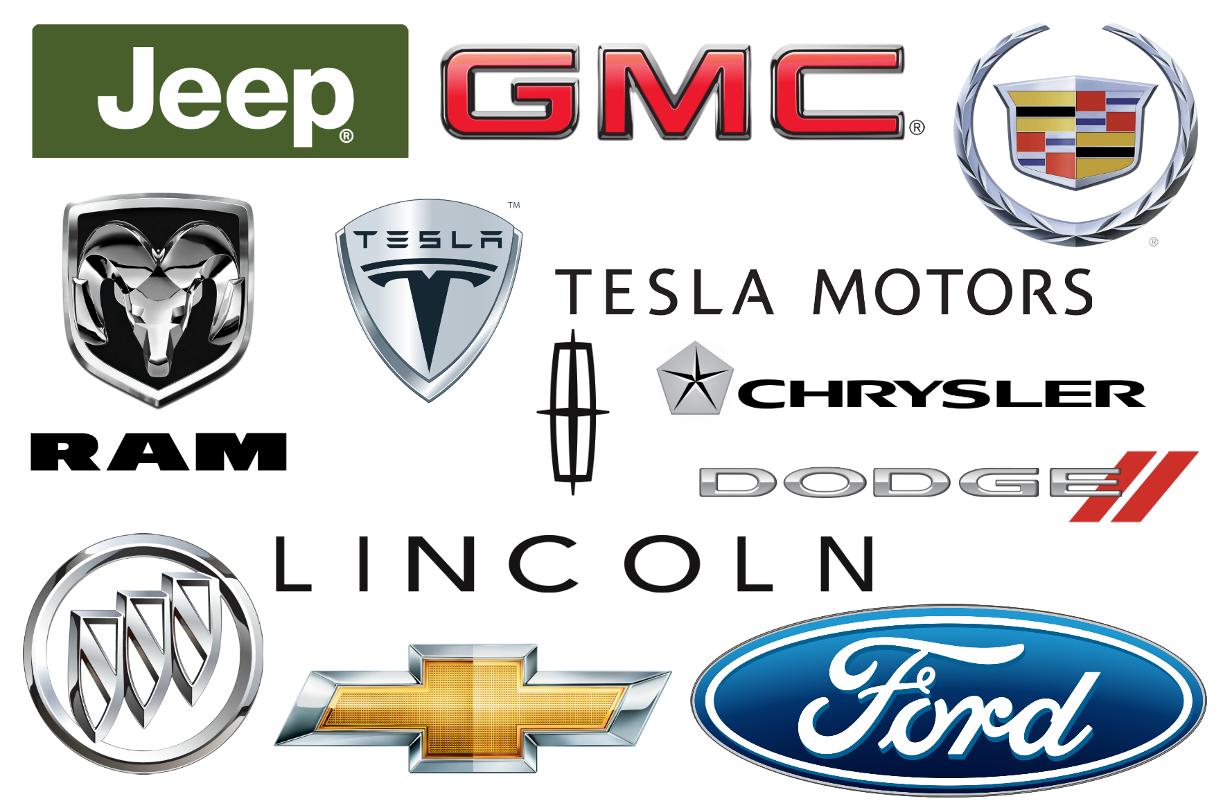 American car brands companies and manufacturers car brand names american car brands biocorpaavc Choice Image