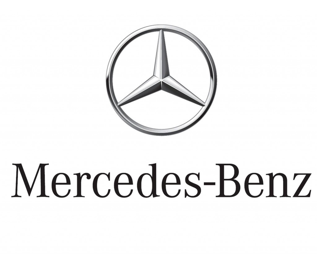 Mercedes Benz Logo on hyundai logo