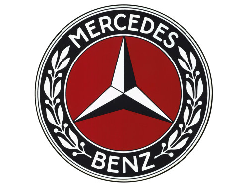 Old Mercedes-Benz symbol