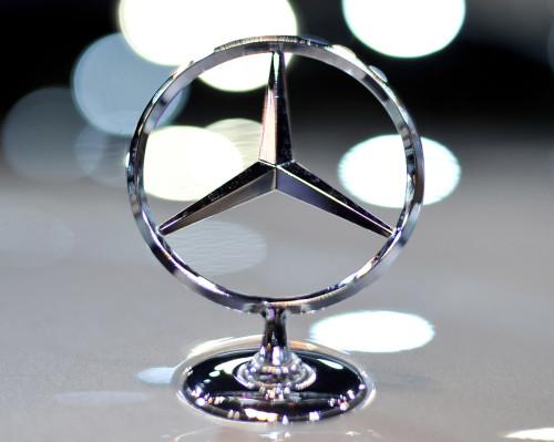Mercedes Company Emblem