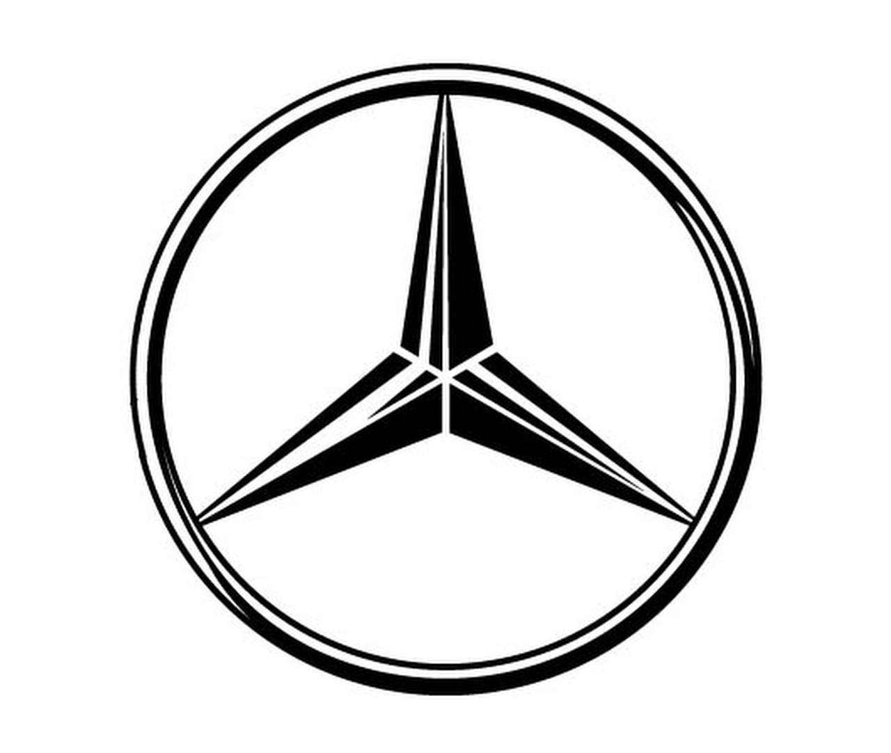 Mercedes logo mercedes benz car symbol meaning and for Mercedes benz star logo