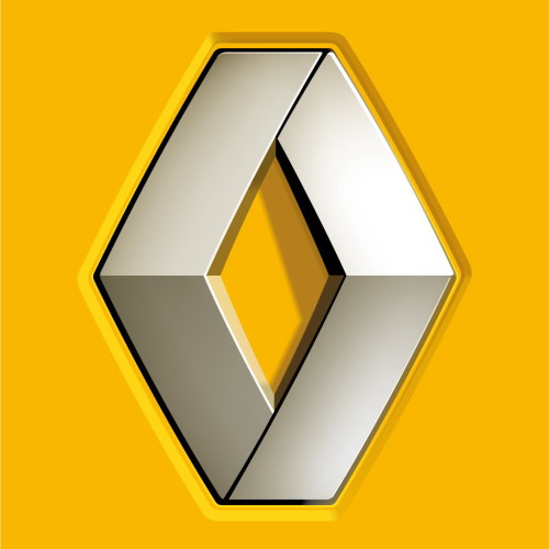 Color of Renault logo