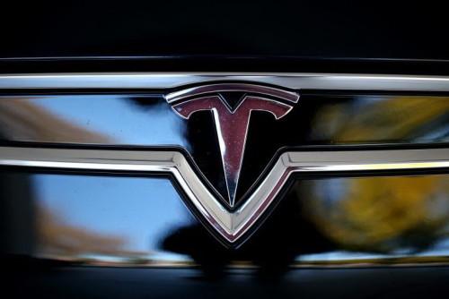 Tesla Car Emblem
