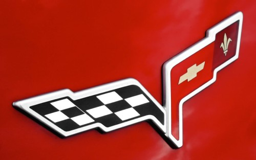 Chevy Corvette emblem