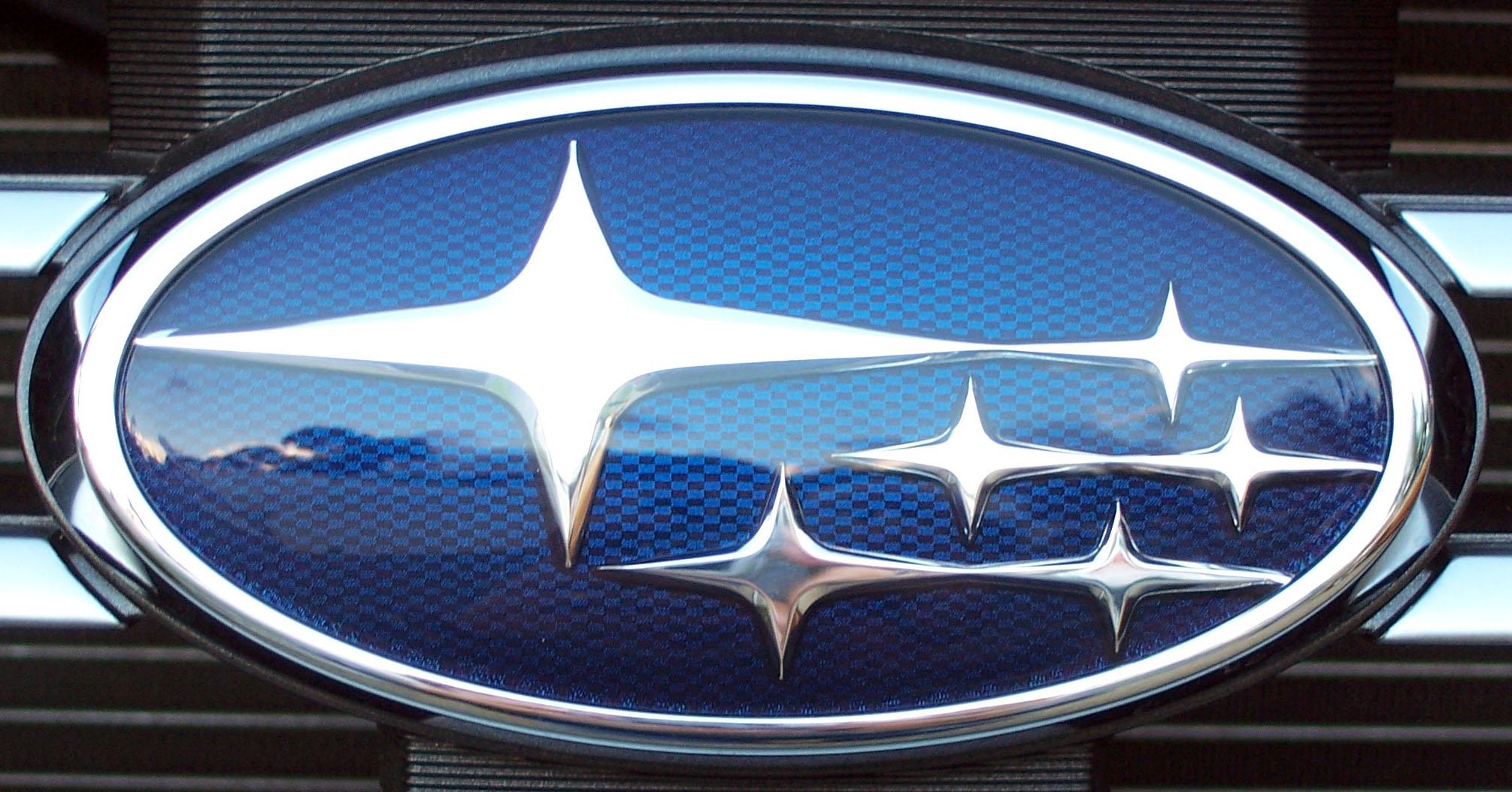 Subaru Logo Subaru Car Symbol Meaning And History Car Brand Names Com