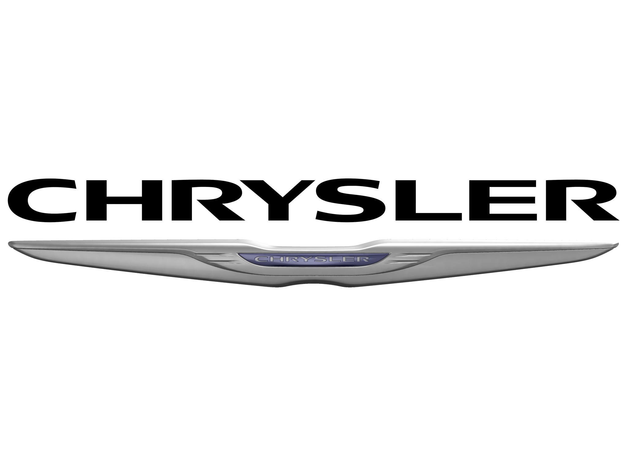 Image Gallery Chrysler Badge