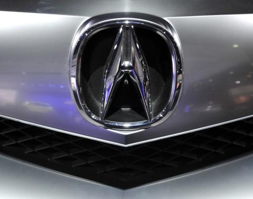 Acura Car Emblem