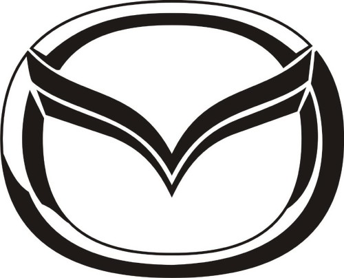 Mazda Car Emblem