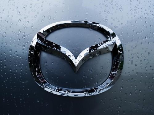 Mazda car symbol