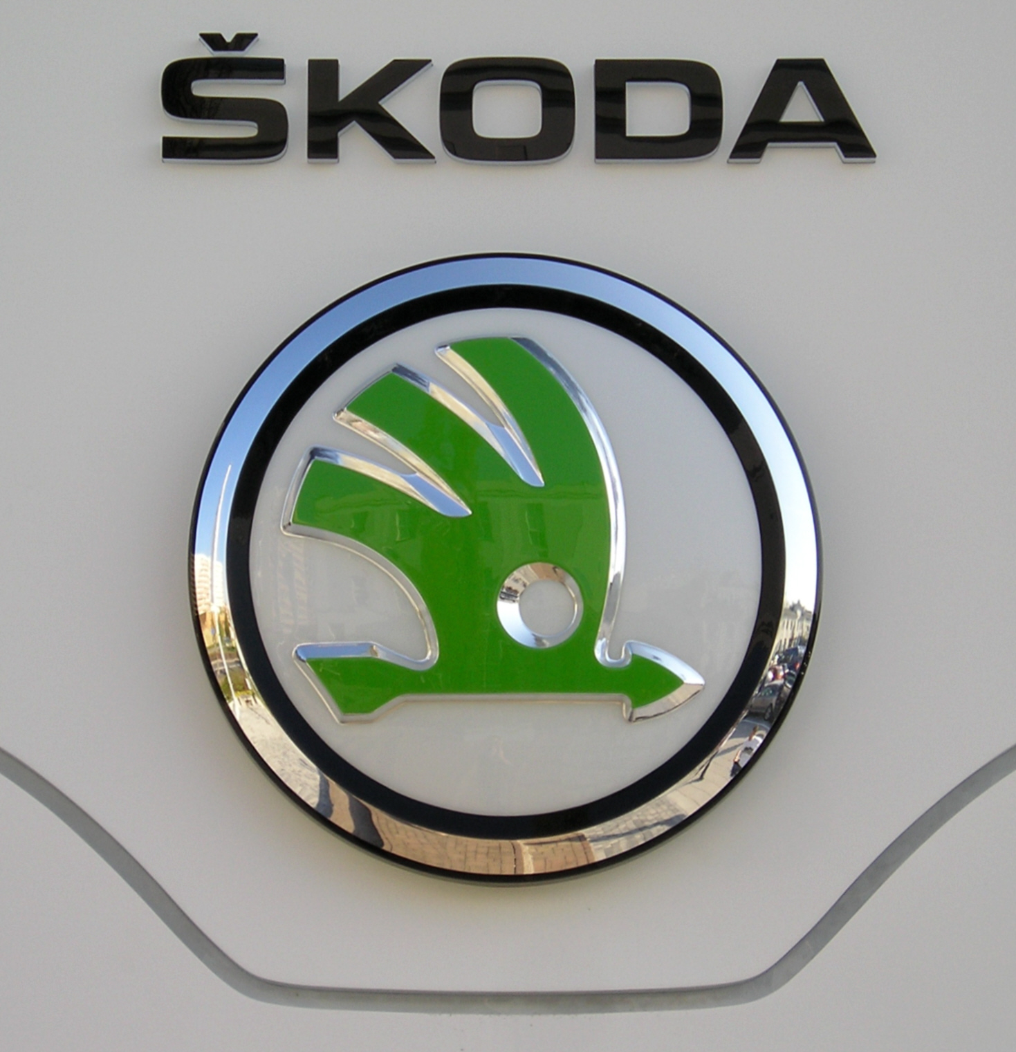 Symbols Of Cars And Names >> Škoda Logo, Škoda Car Symbol Meaning and History | Car Brand Names.com