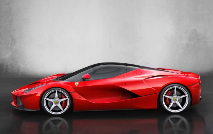 Ferrari LaFerrari - top10 fastest cars