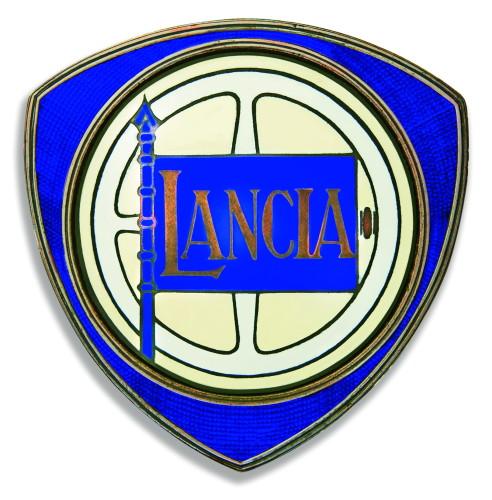 Lancia Old Car Symbol