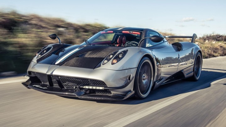 Top 5 Expensive Car - Pagani Huayra BC