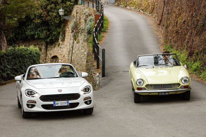 Best Coupe or Convertible — Fiat 124 Spider