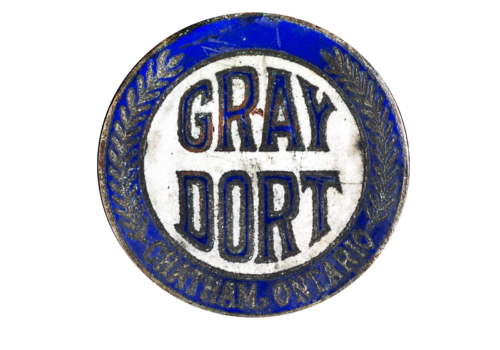 Canadian car brands Gray-Dort Motors logotype