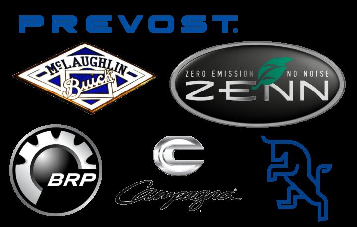 Canadian car brands logotypes