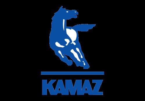 Russian car brands Kamaz logotype