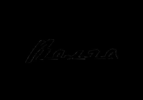 Russian car brands Volga logotype