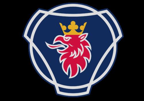 Swedish car brands Scania A-B logotype