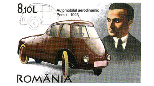Romanian car brands Aurel Persu