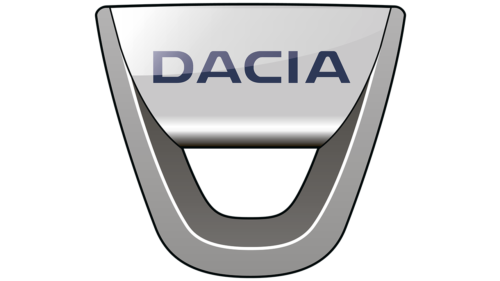 Romanian car brands Dacia logo