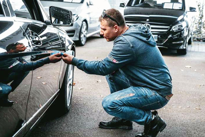Inspection of a used car upon purchase